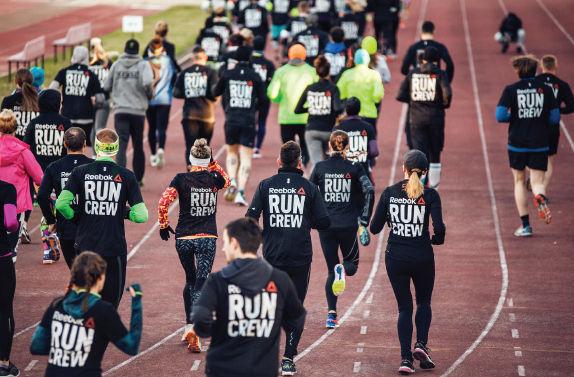 Reebok RUN CREW, czyli wielki trening Aerobic Capacity